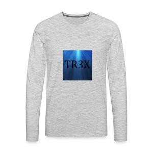 Tr3x Logo Merchendise - Men's Premium Long Sleeve T-Shirt
