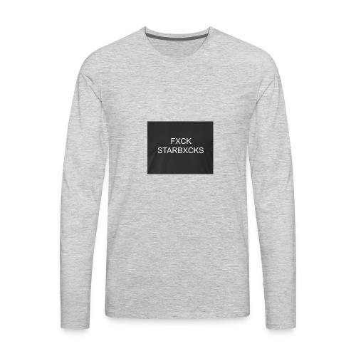 Boycott Starbucks - Men's Premium Long Sleeve T-Shirt