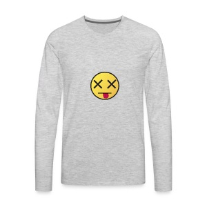 When I wake up - Men's Premium Long Sleeve T-Shirt