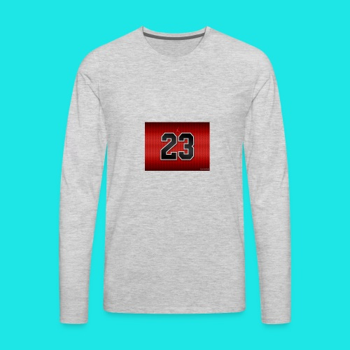Jordan_Bulls_Jersey - Men's Premium Long Sleeve T-Shirt