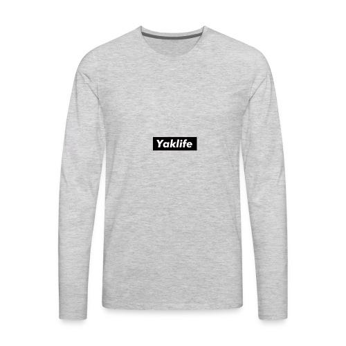 YAKLIFE'S MERCH - Men's Premium Long Sleeve T-Shirt