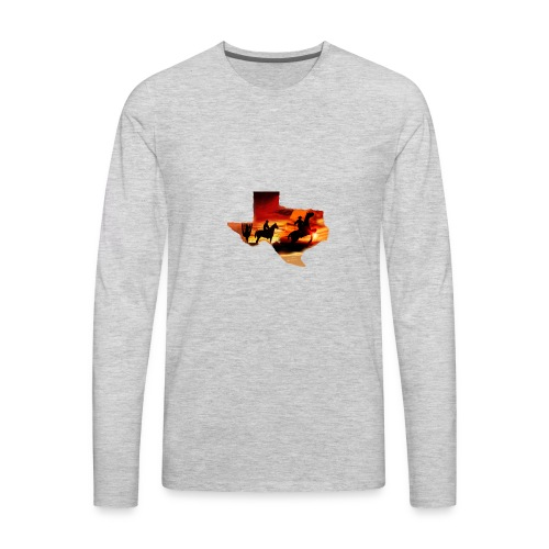 Wild heart - Men's Premium Long Sleeve T-Shirt