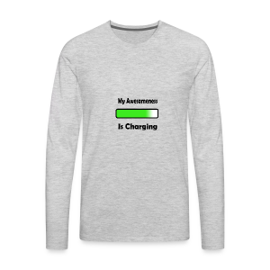 awesomenessgreen - Men's Premium Long Sleeve T-Shirt
