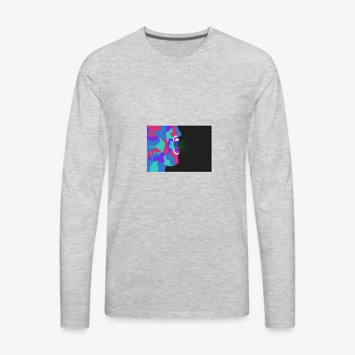 paintface - Men's Premium Long Sleeve T-Shirt