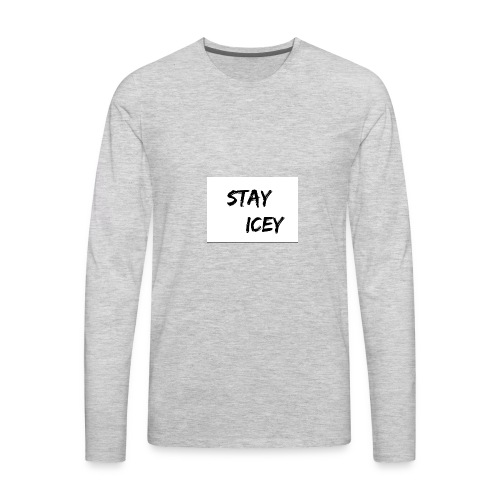Stay Icey Merch - Men's Premium Long Sleeve T-Shirt