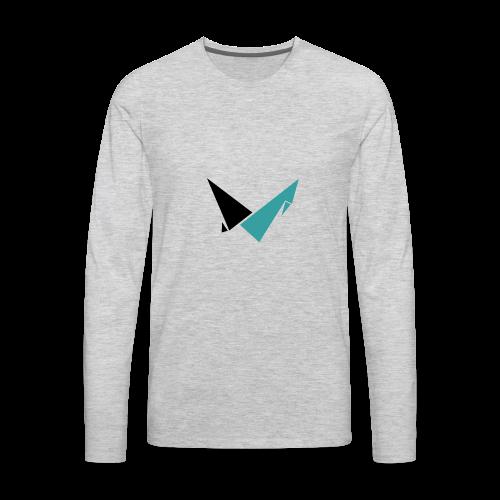 Vulcan Logo - Men's Premium Long Sleeve T-Shirt