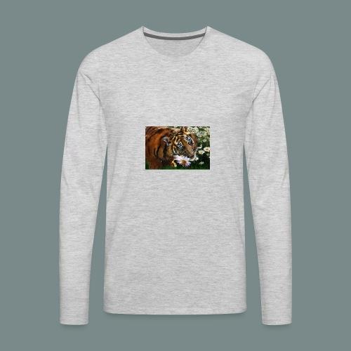 Tiger flo - Men's Premium Long Sleeve T-Shirt