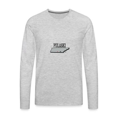 Pulaski - Men's Premium Long Sleeve T-Shirt