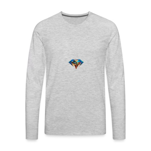 The Diamond - Men's Premium Long Sleeve T-Shirt