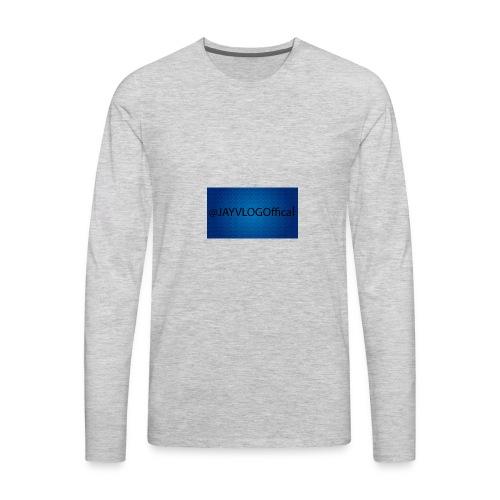 JAYVLOGOffical - Men's Premium Long Sleeve T-Shirt