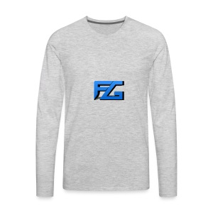 Freeze Gaming Logo - Men's Premium Long Sleeve T-Shirt