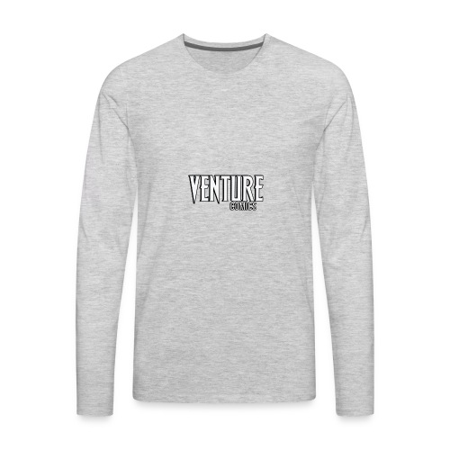 Venture Comics Logo - Men's Premium Long Sleeve T-Shirt