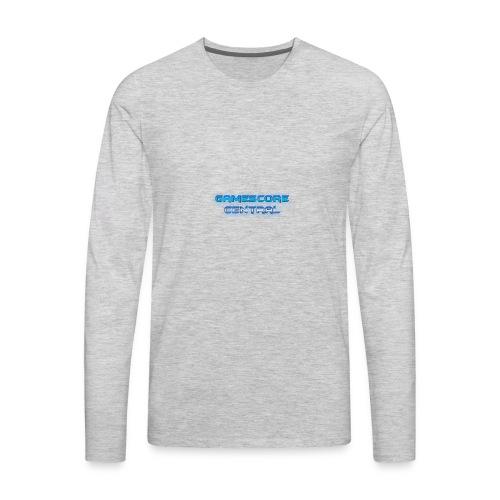 Gamescore Central Varsity Sweatshirt - Men's Premium Long Sleeve T-Shirt