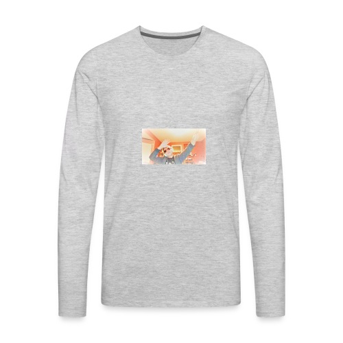 dab douchebagtv - Men's Premium Long Sleeve T-Shirt