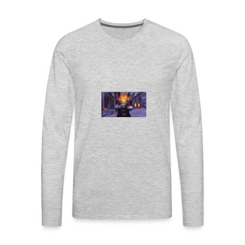 ReaperDude Halloween - Men's Premium Long Sleeve T-Shirt