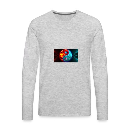 YIN N YANG - Men's Premium Long Sleeve T-Shirt