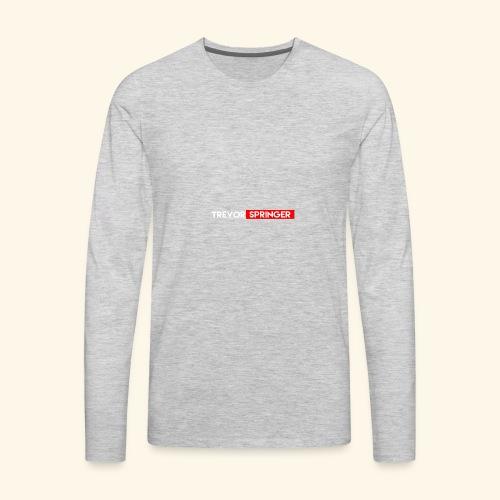 Trevor Springer (YOUTUBE EDITION) - Men's Premium Long Sleeve T-Shirt