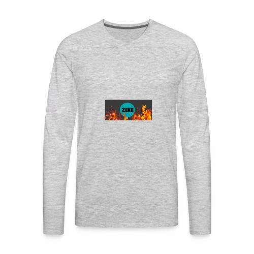 Zeke Logo Shirt - Men's Premium Long Sleeve T-Shirt