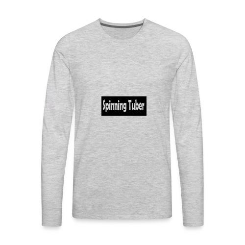 Spinning Tuber's Shirt - Men's Premium Long Sleeve T-Shirt