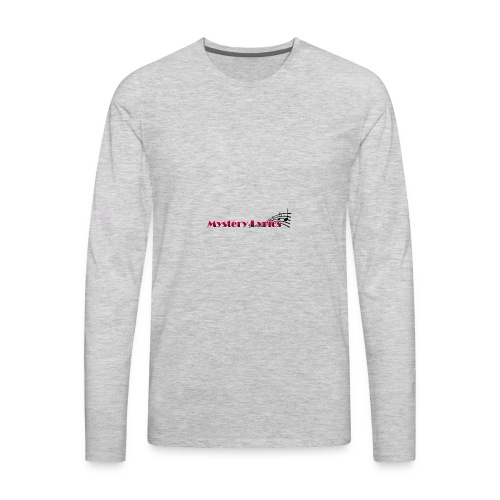 Mystery Lyrics Merchandise - Men's Premium Long Sleeve T-Shirt