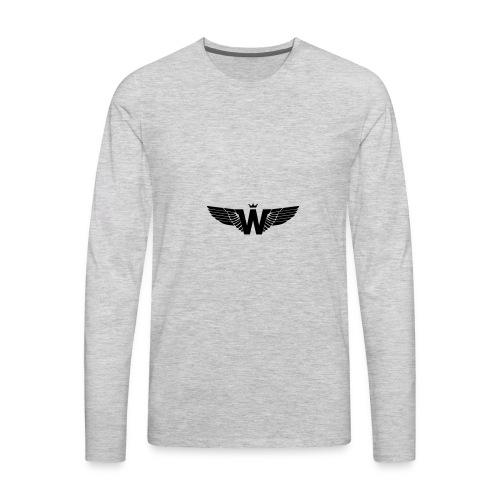 Wade Clothing Logo - Men's Premium Long Sleeve T-Shirt