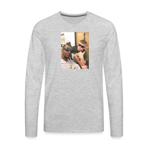 Bars And Tyler - Men's Premium Long Sleeve T-Shirt