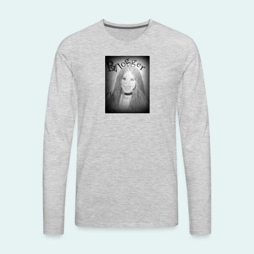 Beauty Vlogger Image Tshirt - Men's Premium Long Sleeve T-Shirt