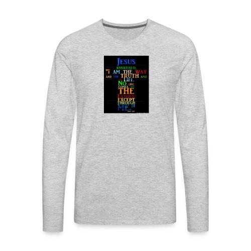 i love jesus - Men's Premium Long Sleeve T-Shirt