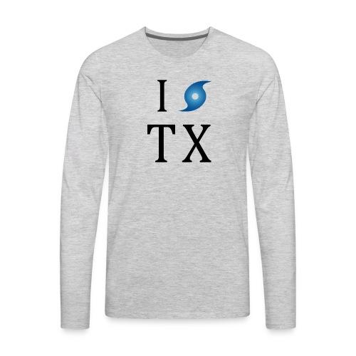 I Hurricane Texas - Men's Premium Long Sleeve T-Shirt