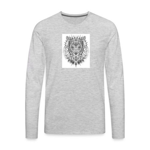 simba - Men's Premium Long Sleeve T-Shirt
