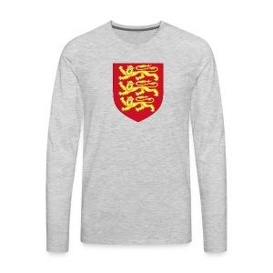 Royal Arms of England - Men's Premium Long Sleeve T-Shirt