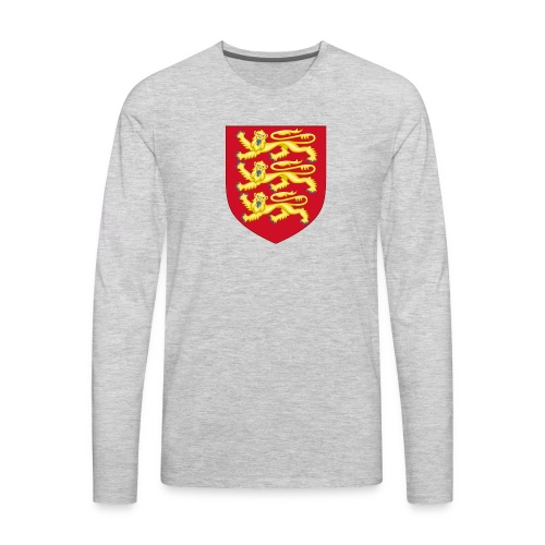 Royal Arms of England - Men's Premium Long Sleeve T-Shirt