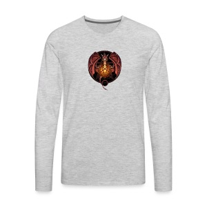 Satanic Dragon - Men's Premium Long Sleeve T-Shirt
