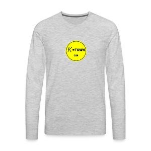 K TOWN - Men's Premium Long Sleeve T-Shirt