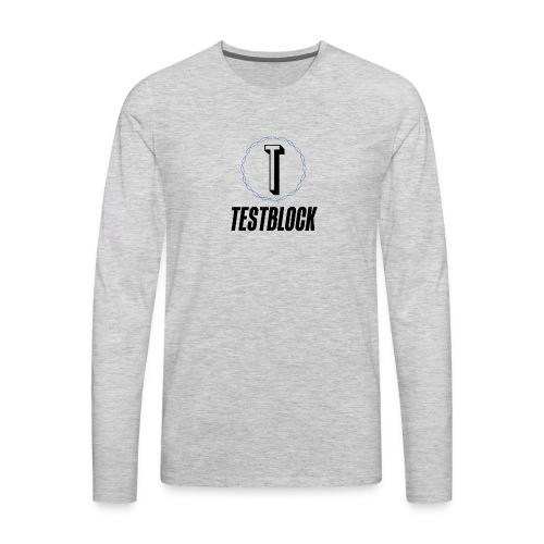 logo transparent background - Men's Premium Long Sleeve T-Shirt