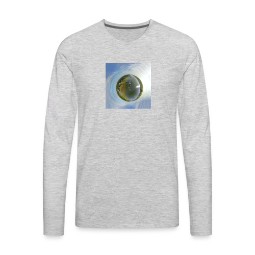 Intracoastal Waterway Tiny Planet - Men's Premium Long Sleeve T-Shirt