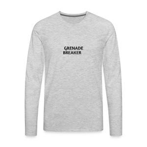 Grenade tank top - Men's Premium Long Sleeve T-Shirt