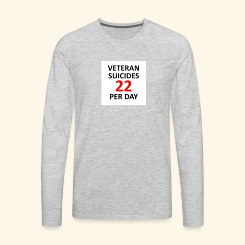 22 per day - Men's Premium Long Sleeve T-Shirt