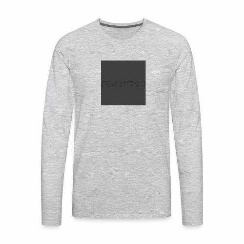 Blackdot grey - Men's Premium Long Sleeve T-Shirt