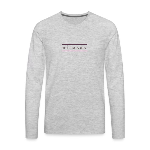 HIT MAKA - Men's Premium Long Sleeve T-Shirt