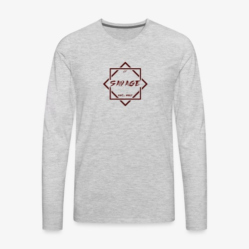 Savage Gang - Men's Premium Long Sleeve T-Shirt