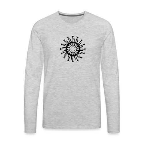 Trumpet Circle - Men's Premium Long Sleeve T-Shirt