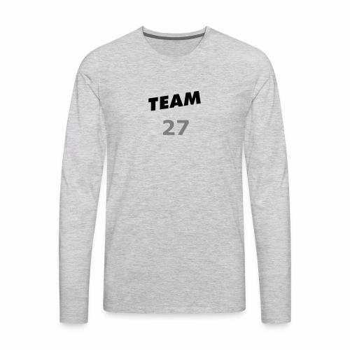 Team 27 SHIRTS N' STUFF - Men's Premium Long Sleeve T-Shirt