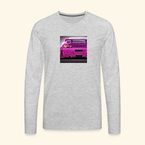 pink k - Men's Premium Long Sleeve T-Shirt