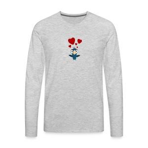 birdie - Men's Premium Long Sleeve T-Shirt