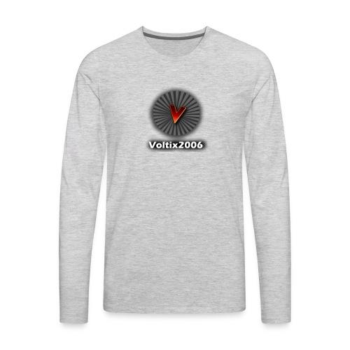 voltix2006 Shirt Logo - Men's Premium Long Sleeve T-Shirt