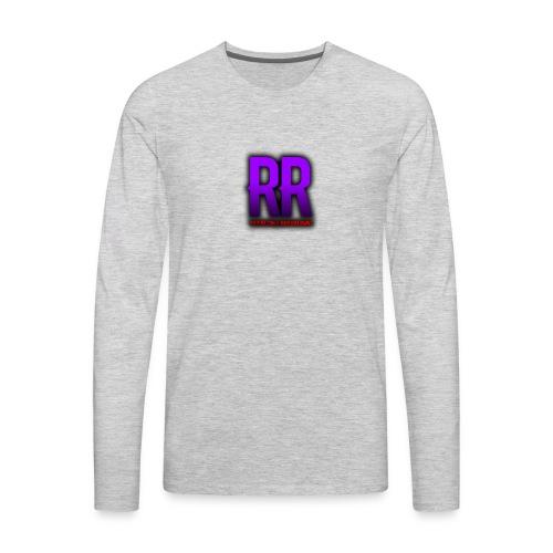 RansackedRains Fresh Logo - Men's Premium Long Sleeve T-Shirt