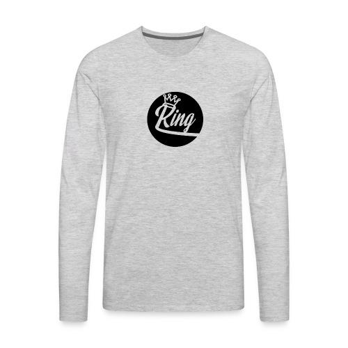 King Kunta New School Logo - Men's Premium Long Sleeve T-Shirt