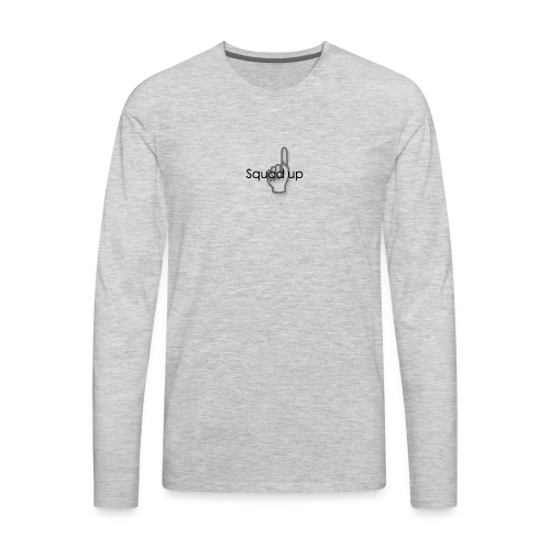 Squad up black - Men's Premium Long Sleeve T-Shirt