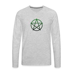 GreenPentagram - T-shirt Premium à manches longues pour hommes